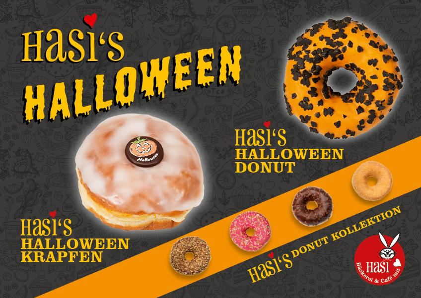 Halloween bei Hasi - Bäckerei und Café mit Herz